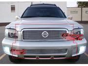 00-01 Nissan Pathfinder Honeycomb Billet Grille Grill Combo Insert   # N87853A