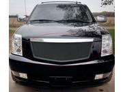 For 2007-2014 Cadillac Escalade Stainless Steel Black Mesh Grille #N19-H26467A