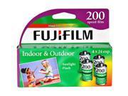 FujiFilm ISO 200 35mm Color Print Film - 24 Exposures, 4 Pack