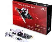 VANTEC 2-PORT SERIAL PCIE HOST CARD - UGT-PCE20SR