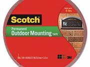 Scotch Permanent Heavy Duty Interior/Exterior Mounting Tape - MMM4011LONG