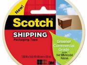 Scotch Greener Commercial Grade Packaging Tape - MMM3750G
