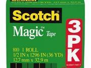 Scotch Magic Tape - MMM810H3