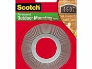 Scotch Permanent Heavy Duty Interior/Exterior Mounting Tape - MMM411P