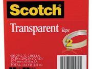 Scotch Transparent Tape - MMM6002P1272