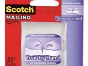 Scotch Tear-By-Hand Packaging Tapes - MMM3841