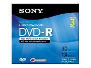 SONY DMR 30R1H DVD R 8CM X 3 1.4 GB STORAGE MEDIA 3DMR30R1H
