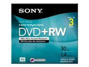 SONY 3DPW30R2HC DVD RW X 3 1.4 GB STORAGE MEDIA 3DPW30R2HC