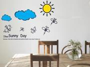 Demarkt Wall Sticker Bee I Like Sunny Day Wall Decor Mural Decal For Kid Room Home Decoration Wall Decor Bedroom Decor