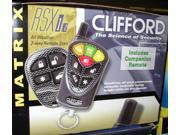 Clifford Matrix RSX 1.2 Car Remote Start 2 Way Starter System New MATRIXRSX12