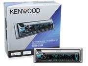 Kenwood KMR-D358 CD Marine KMRD358 Receiver w/ Front USB Aux In KMRD358B