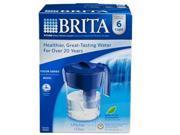 Brita Classic Water Filter Pitcher, Dark Blue