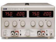 TTi EX752M Mixed-Mode Regulated Precision DC Bench 300W Power Supply 2X75V/2A 9SIA3C64MH4518