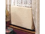 Indoor Air Conditioner Cover -- (Beige) Small -- 2-Pack