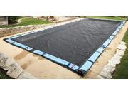 Image of Blue Wave Rectangular Rugged Mesh Cover - 24 ft x 40 ft