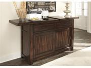 Liberty Furniture Tahoe Server in Mahogany Stain Finish