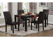 Homelegance Toulon Dining Table, Ash Veneer In Black