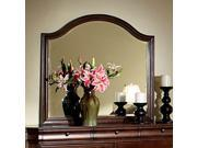 Homelegance Greenfield Arched Mirror in Cherry