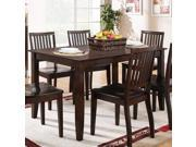 Steve Silver Candice Rectangular Dining Table in Dark Espresso
