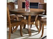 Steve Silver Ashbrook Round Dining Table in Oak