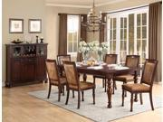 "Homelegance Cumberland Dining Table With 18"" Leaf In Rich Medium Brown"