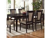 Steve Silver Wilson Rectangular Extension Dining Table in Espresso