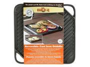 Blue Rhino Reversible Cast Iron Griddle [Set of 4] 9SIA0ZX5306815