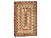 Homespice Harvest Braided Rectangle Placemat - 10 inch x 15 inch [Set of 2] 9SIA00Y44W5770