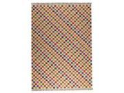 Mat The Basics Bys2064 Rug In White Multi - 8 Foot 3 Inch x 11 Foot 6 Inch 9SIA3CD3FD6468