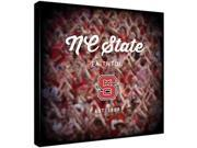 Replay Photos Gallery Wrapped Canvas of NC State Logo Art
