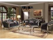 1PerfectChoice Deluxe Royal Chantelle Collection Sofa With 3 Pillows Button Tufted Back Seat New
