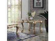 1PerfectChoice Dresden Gold Patina End Table