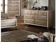 1PerfectChoice Voeville Antique White 7 Drawer Dresser