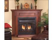 Standard Corner Cabinet Mantel EMBC11SC with Base - Cherry