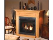 Standard Cabinet Mantel EMBF11SW with Base - White
