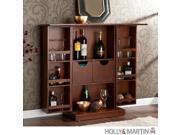 Holly & Martin Archer Fold-Away Bar-Walnut