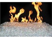 10 LB Glacier Colored Gems for Peterson burners gas firepits