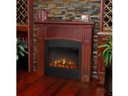 Real Flame Bradford Slim Line Electric Fireplace in Dark Mahogany