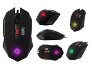Fantech G8 Wired Optical Gaming Mouse 3200DPI Mice 6-Keys Switch DPI USB Powered with Colorful Breathing Light