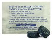 Leak Detection Dye Tablets