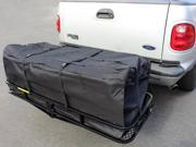 "58"" Large Cargo Carrier Bag SUV RV Truck Hitch/Roof Top Rack Luggage Waterproof"