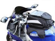 Black Motorcycle Sport Bike Riding Magnetic Gas Tank Bag Backpack w/ Rain Cover 9SIA3G220C7492