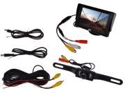"""4.3"""" TFT LCD Monitor Car Rear View System Backup Reverse W/"""