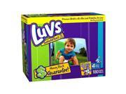 Luvs With Ultra Leakguards Diapers 180 Count - Size 4 #zMC