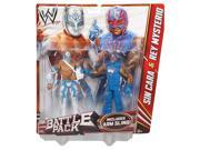 WWE Battle Pack Action Figure 2 - Sin Cara & Rey Mysterio Includes Arm Slin #zCL 9SIAD245C94998