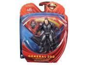 Superman Man of Steel Movie Masters General Zod with Battle Armor Figure 9SIV16A6782284
