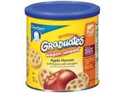 Gerber Graduates Wagon Wheels Puffed Grains Apple Harvest, Naturally Flavored