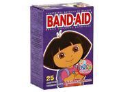 Johnson & Johnson Dora the Explorer Band Aid 25-Count