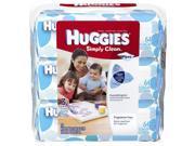 Huggies Simply Clean Wipes - 192 Count