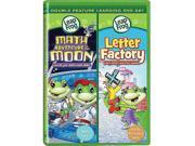 LeapFrog: Math Adventure to the Moon/Letter Factory DVD